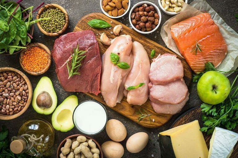 Variety of protein sources