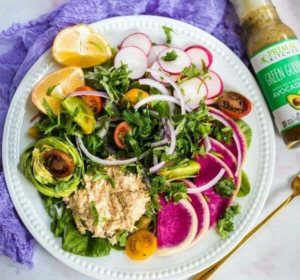 Phytonutrient rich salad